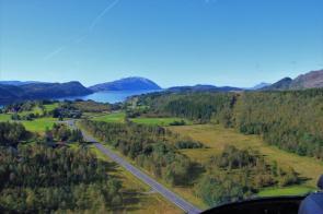 Helikopterbefaring Vefsn og Leirfjord